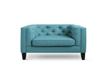 Blue-Single-Seater-Sofa-Bangalore